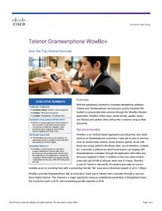 Telenor Grameenphone WowBox