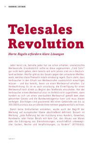 Telesales Revolution