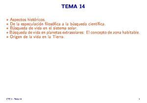 TEMA 14. CTE 2 - Tema 14 1