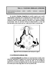 TEMA 16. FUNCIONES CEREBRALES SUPERIORES