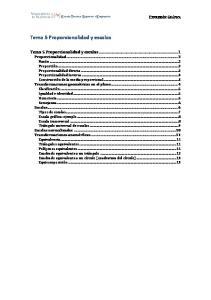 Tema 5 Proporcionalidad y escalas