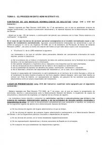 TEMA 6.- EL PROCEDIMIENTO ADMINISTRATIVO