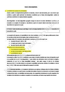Tema 8 : Macromagnitudes