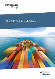 TEMAR Shipboard Cables