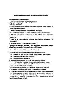 Temario del XXVI Congreso Nacional de Derecho Procesal