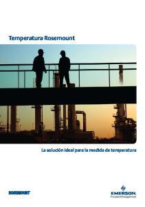 Temperatura Rosemount
