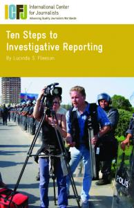 Ten Steps to Investigative Reporting. By Lucinda S. Fleeson