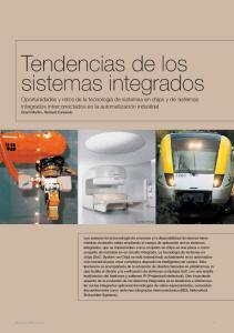 Tendencias de los sistemas integrados