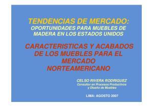 TENDENCIAS DE MERCADO: OPORTUNIDADES PARA MUEBLES DE MADERA EN LOS ESTADOS UNIDOS