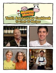 Tenth Anniversary Cookbook 10 Chefs 10 Recipes