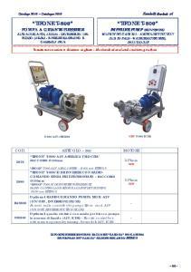 Tenuta meccanica e riduttore in ghisa - Mechanical seal and cast iron gearbox