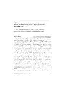 Terapia sustitutiva con nicotina en el tratamiento actual del tabaquismo