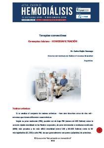 Terapias convectivas