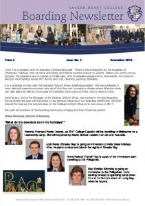 Term 4 Issue No. 5 December 2016