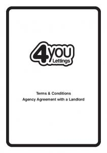 Terms & Conditions Agency Agreement with a Landlord