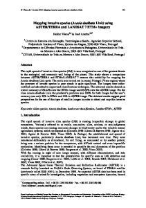 TERRA and LANDSAT 7 ETM+ imagery