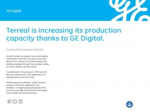 Terreal is increasing its production capacity thanks to GE Digital