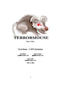 TerrorMouse - A MIDI Synthesizer