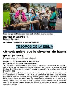 TESOROS DE LA BIBLIA