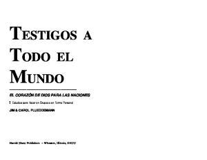 TESTIGOS A TODO EL MUNDO