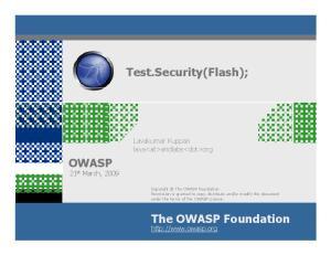 Test.Security(Flash);