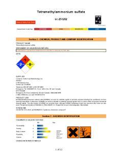 Tetramethylammonium sulfate