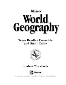 Texas Reading Essentials and Study Guide