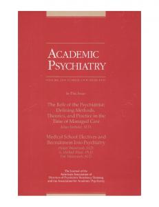 Textbook of Child and Adolescent Psychiatry, Second Edition