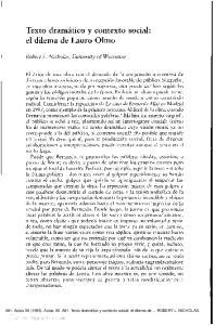 Texto dramático y contexto social: el dilema de Lauro Olmo