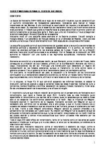 TEXTO Y MATERIALES PARA EL TEXTO DE NIETZSCHE CONTEXTO