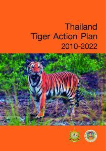 Thailand Tiger Action Plan
