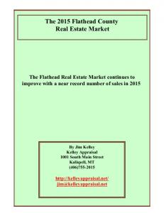 The 2015 Flathead County Real Estate Market