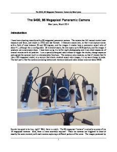 The $400, 96 Megapixel Panoramic Camera