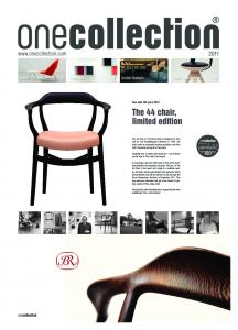 The 44 chair, limited edition