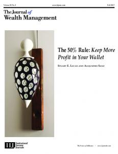 The 50% Rule: Keep More Profit in Your Wallet