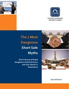 The 7 Most Dangerous Short Sale Myths