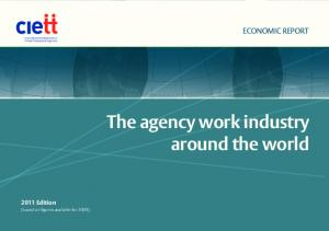 The agency work industry around the world