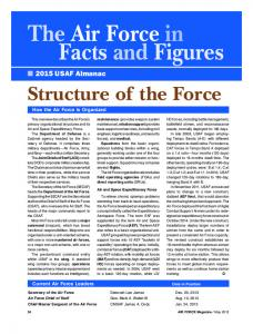The Air Force in Facts and Figures