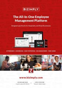 The All-In-One Employee Management Platform