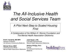 The All-Inclusive Health and Social Services Team