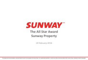 The All Star Award Sunway Property