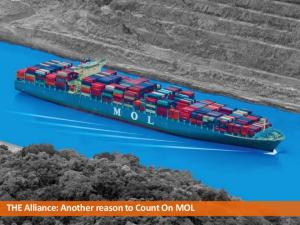 THE Alliance: Another reason to Count On MOL