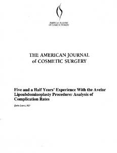 THE AMERICAN JOURNAL