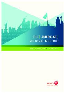 THE [ AMERICAS ] REGIONAL MEETING