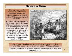 The Arab Slave Trade (700 to 1911)