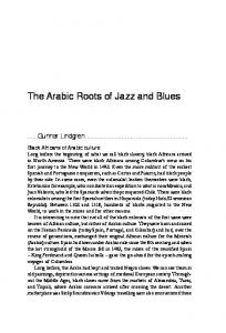 The Arabic Roots of Jazz and Blues