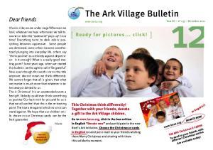 The Ark Village Bulletin
