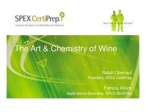The Art & Chemistry of Wine