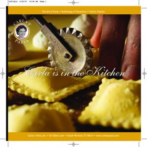 The Art of Pasta Technology of Tomorrow Carla s Passion