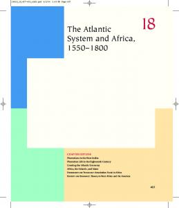 The Atlantic System and Africa,